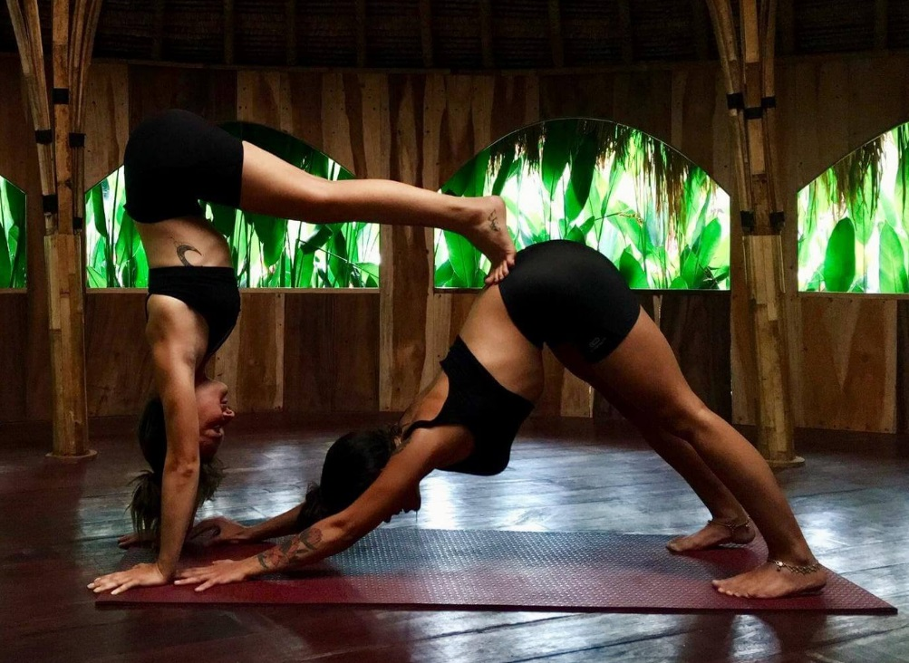 Share connection with Yoga in pair