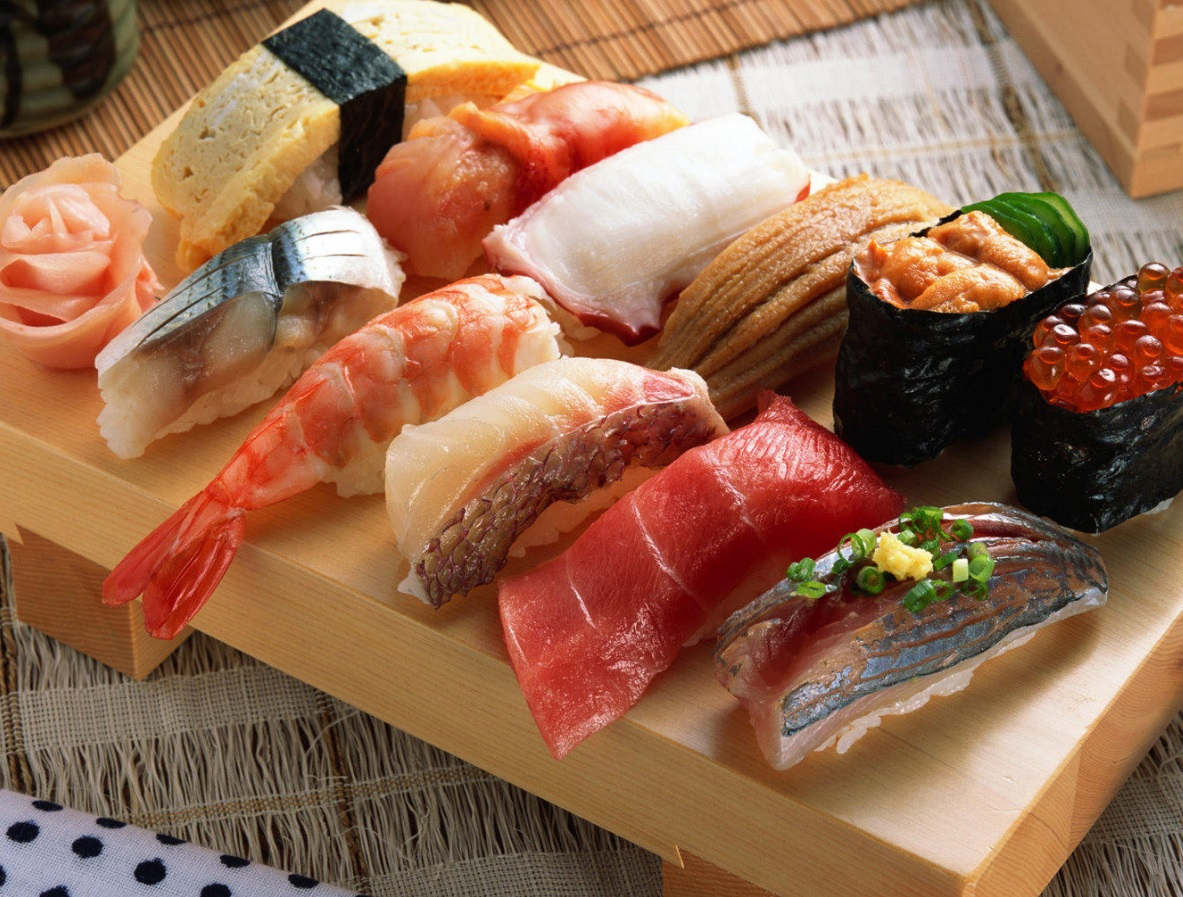 The traditional types of sushi and their history